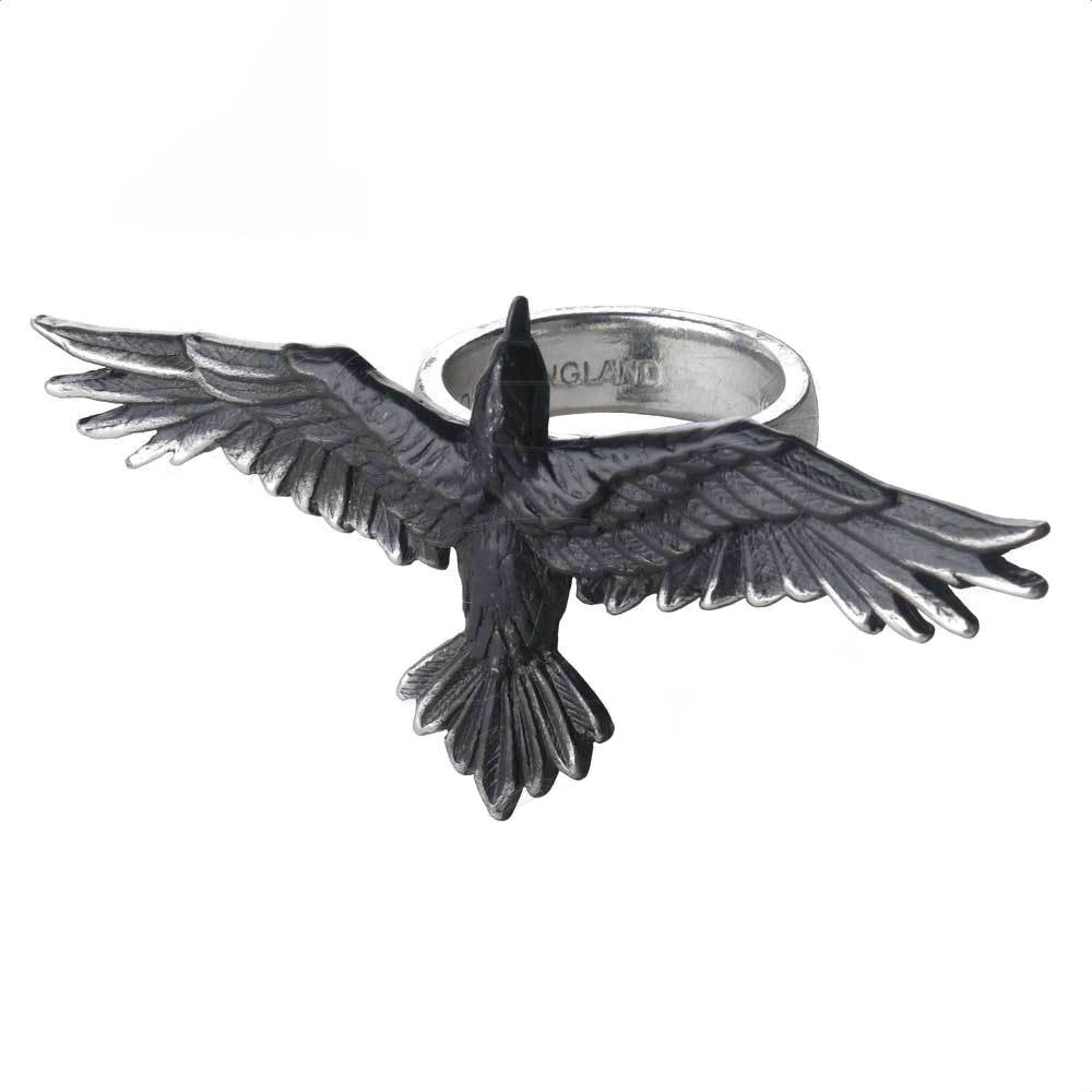 Black Consort Alchemy Gothic Raven Ring