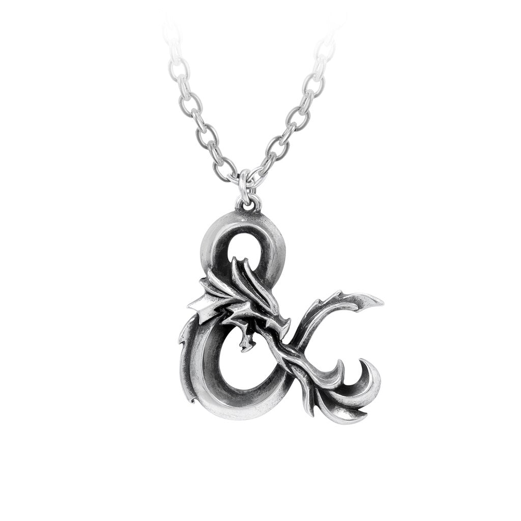 Dungeons and Dragons Pendant Necklace by Alchemy Gothic