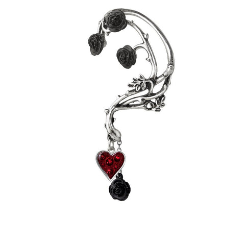 Bed of Blood Roses Ear Wrap by Alchemy Gothic
