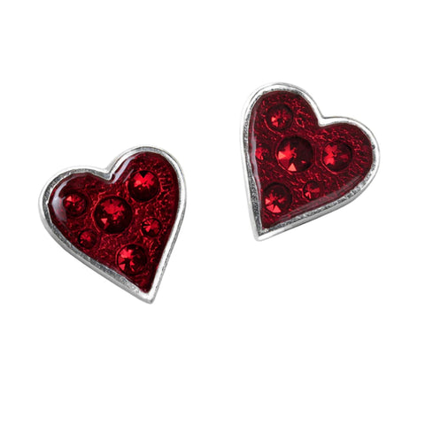 Heart's Blood Earrings by Alchemy Gothic