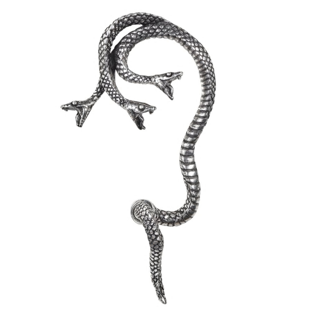 Khthonis Snake Ear Wrap by Alchemy Gothic