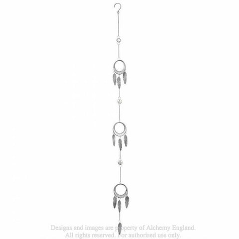 Crystal Dream Catcher Hanging Decoration by Alchemy Gothic