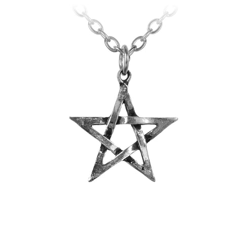 Classic Pentagram Pendant Alchemy Gothic Necklace