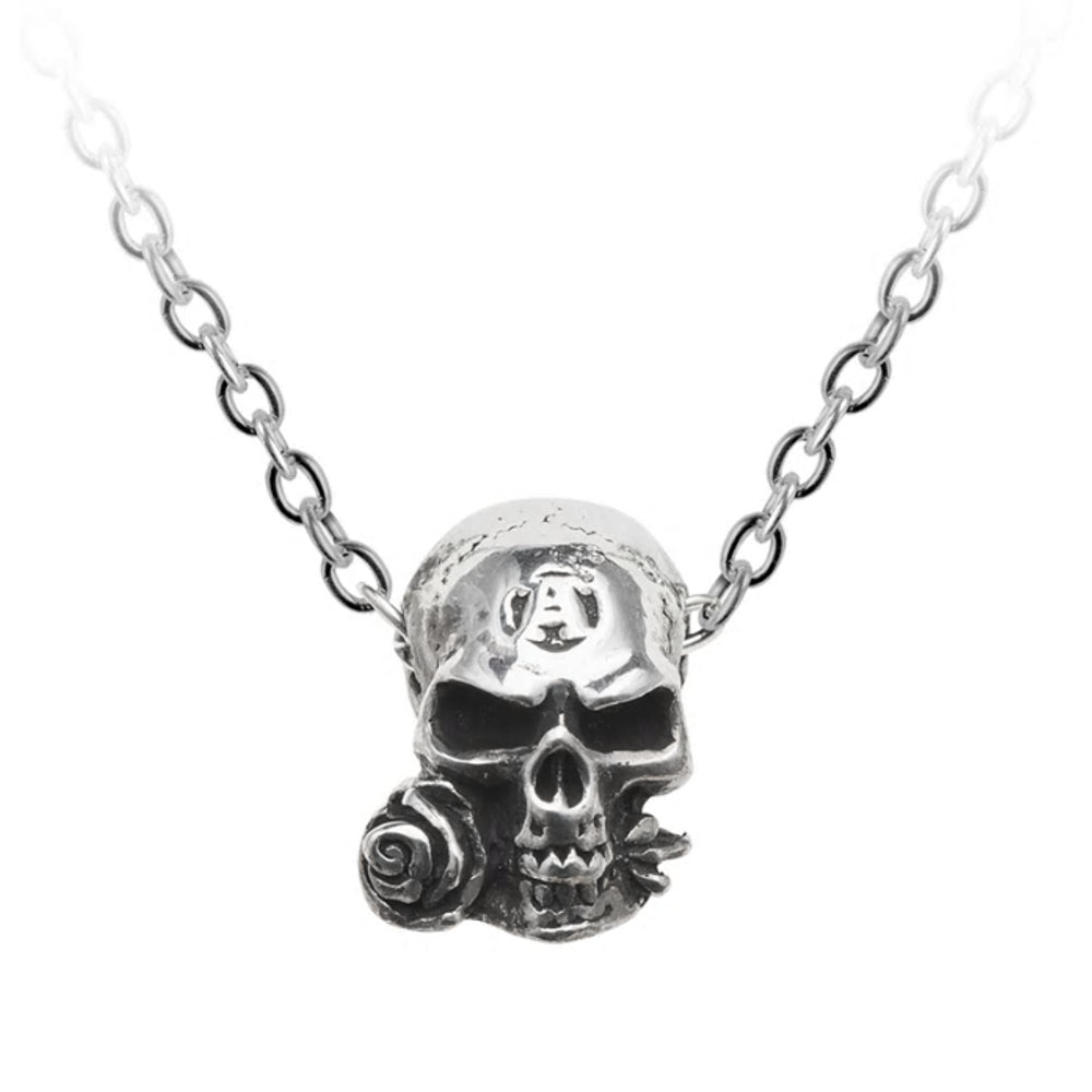 Dragon Skull Pendant Made by Alchemy England with Chain