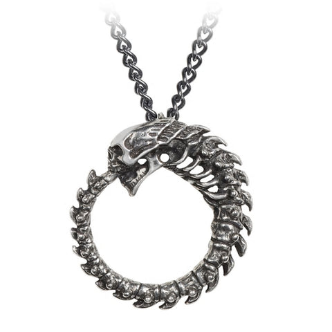 Alchoboros Pendant Necklace by Alchemy Gothic