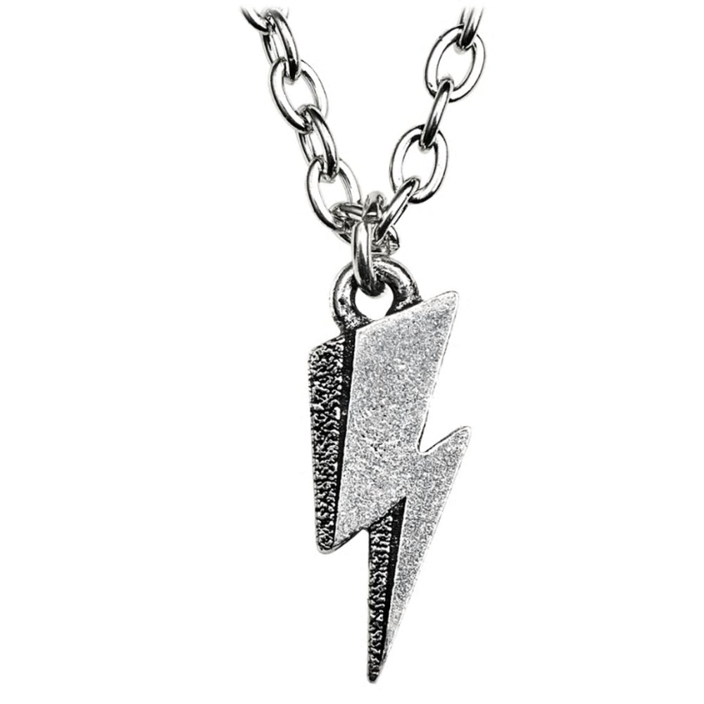 David Bowie: Lightning Flash Pendant Necklace by Alchemy Gothic