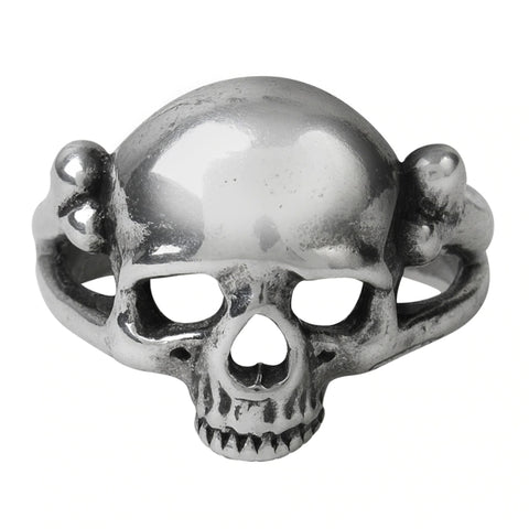 Memoria Mortalis Skull Ring by Alchemy Gothic