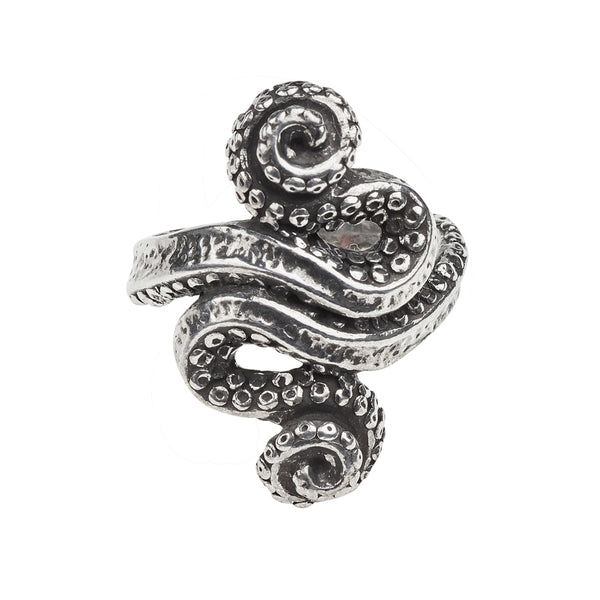 Kraken Ring - Alchemy Gothic Octopus Ring