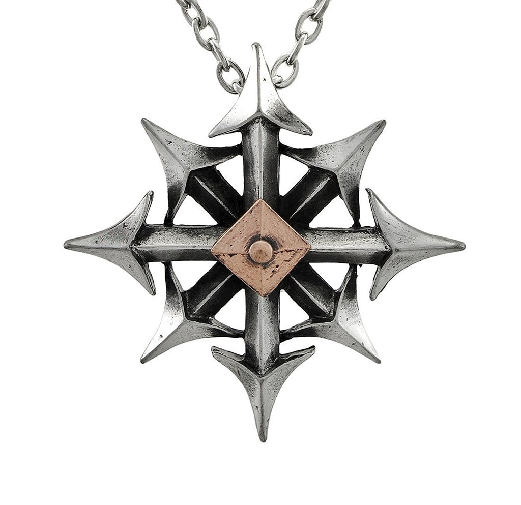Chaostar Pendant Necklace by Alchemy Gothic