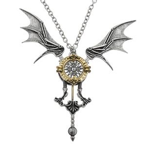 Icarus Ex Machina Alchemy Gothic Steampunk Necklace