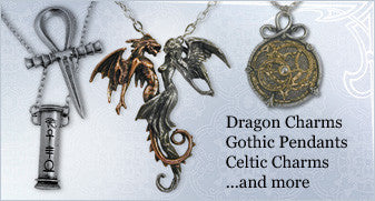 Dragon Charms, Gothic Pendants, Celtic Charms ...and more