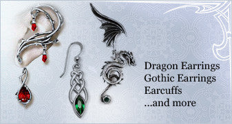 Dragon Earrings, Gothic Earrings, Earcuffs ...and more