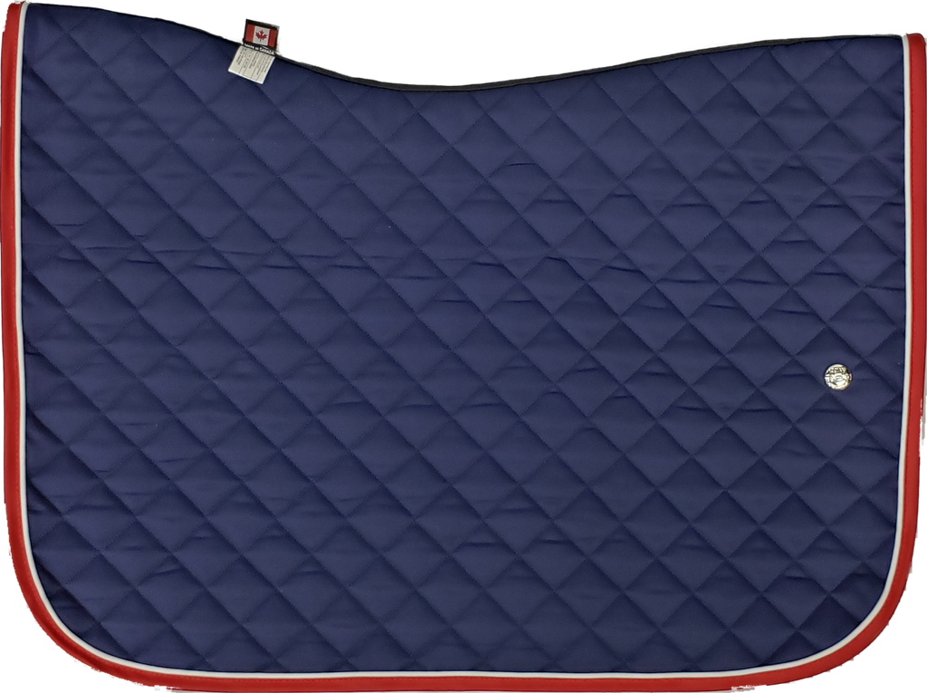 Ogilvy Jump Pony Baby Pad - Navy / White / Red