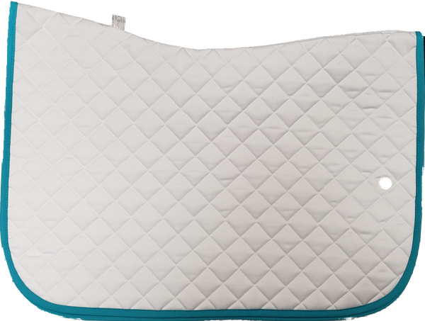 Ogilvy Jump Baby Pad - White / Turquoise