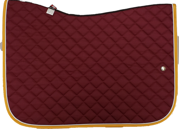 Ogilvy Jump Baby Pad - Burgundy / White / Gold Yellow