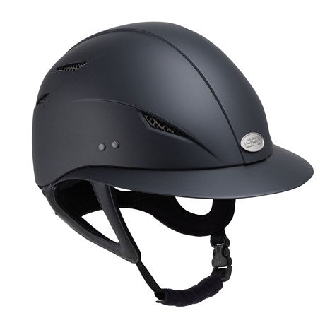 GPA Little Lady Riding Helmet - Black
