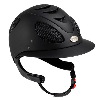 GPA First Lady Concept Riding Helmet - Black