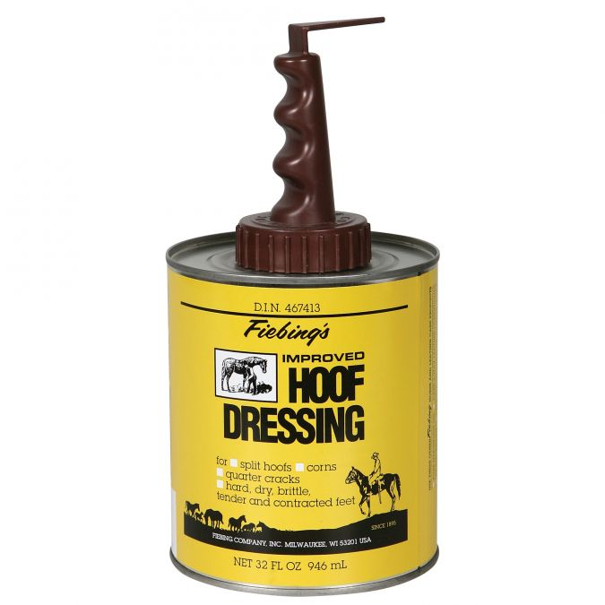 Fiebing's Hoof Dressing w/Brush