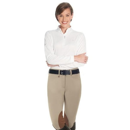 Ovation® Celebrity EuroWeave™ Ladies Knee Patch Breeches