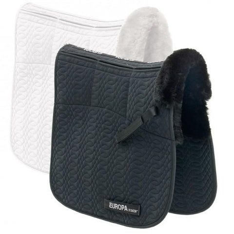 Ovation® Europa™ Sheepskin 6-Shim Dressage Pad