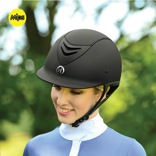 One K CCS with MIPS Riding Helmet - Black Matte