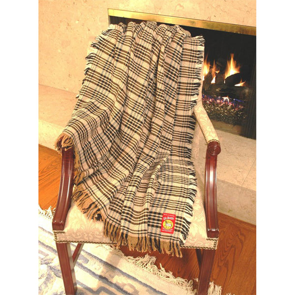 Baker Plaid Afghan