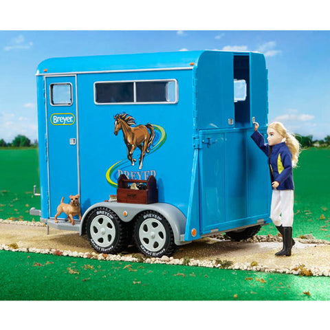 Breyer Traditional Series Two Horse Trailer - 2617