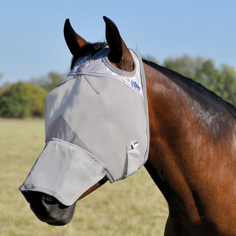 Cashel Crusader Fly Mask w/ Long Nose