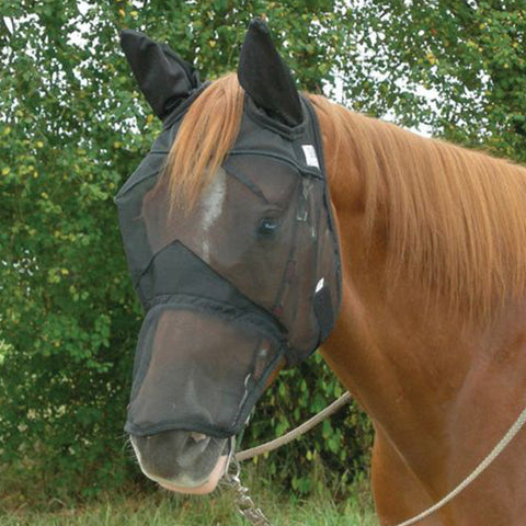 Cashel Quiet Ride Long Nose Fly Mask w/ Ears