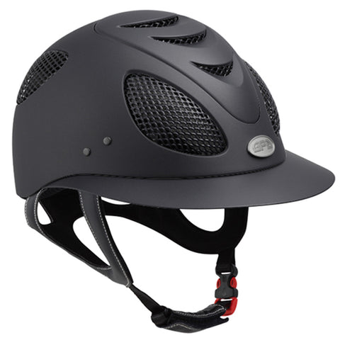 GPA First Lady 2X Riding Helmet - Black