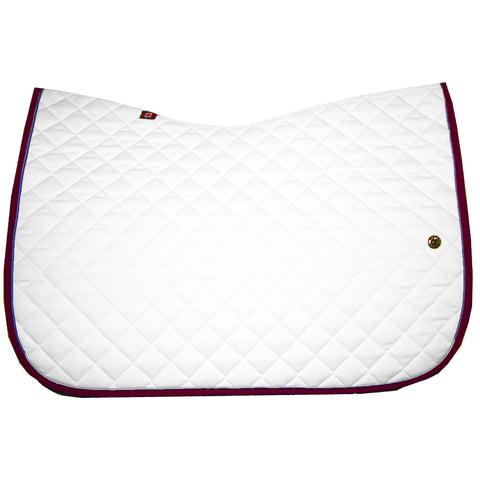 Ogilvy Jump Baby Pad - White / Silver Grey / Raspberry