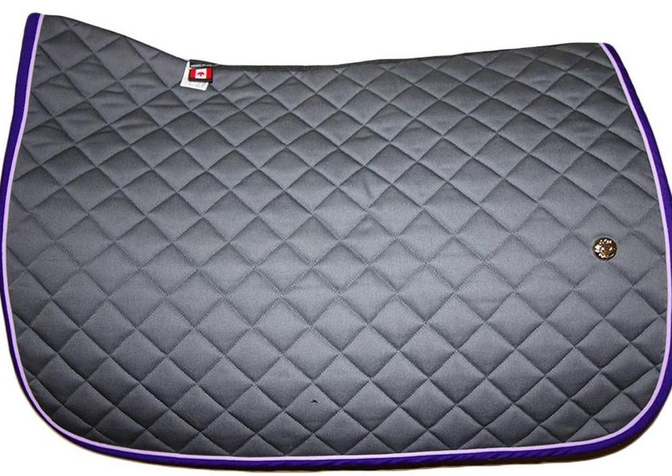 Ogilvy Jump Pony Baby Pad - Grey / Lilac / Bright Purple