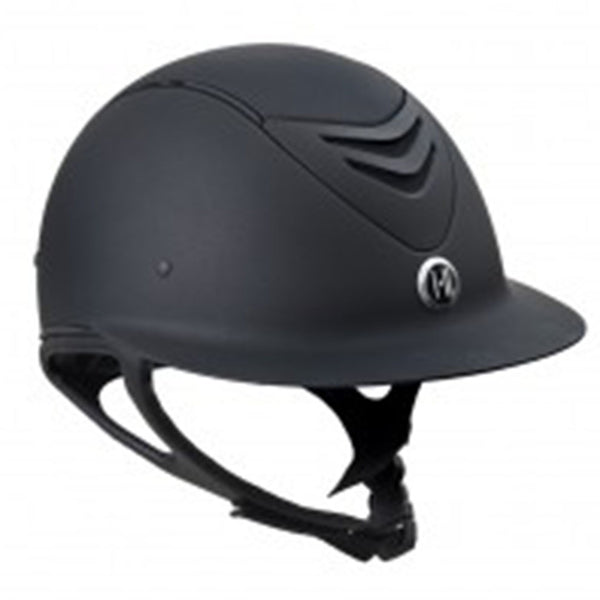 One K Defender Avance Wide Brim Riding Helmet - Black