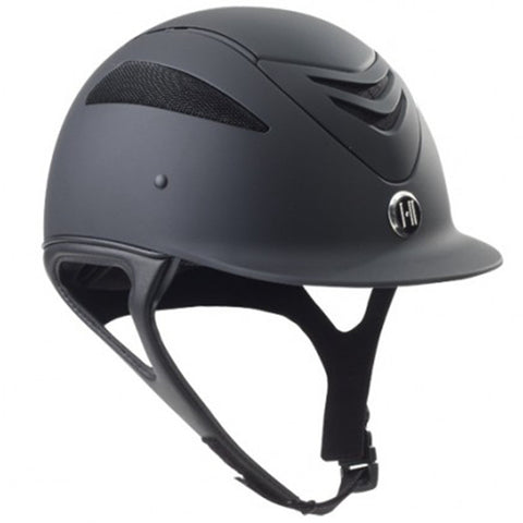 One K Defender Junior Riding Helmet - Black Matte