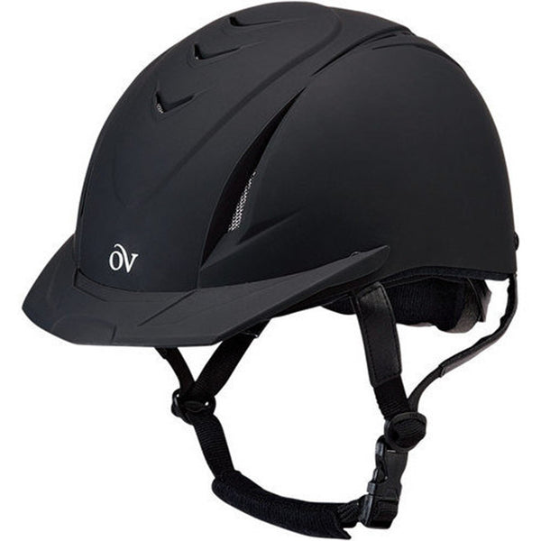 Ovation Deluxe Schooler Riding Helmet - Black
