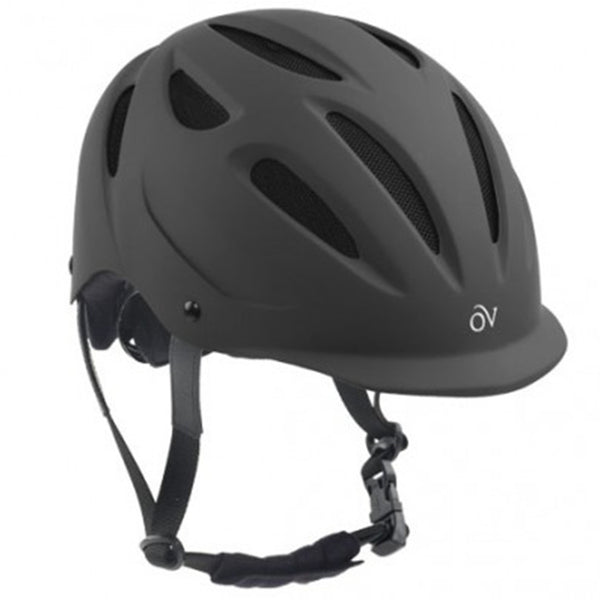 Ovation Protege Riding Helmet - Black Matte