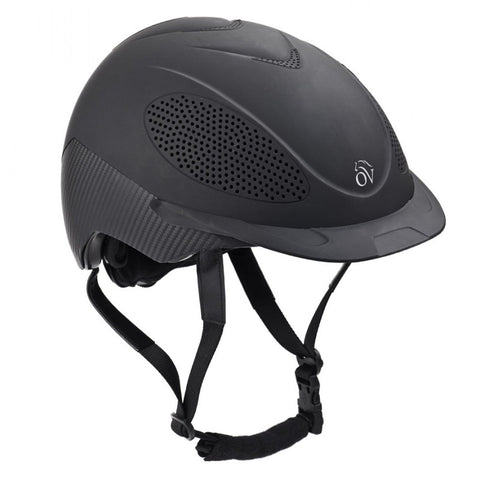 Ovation Venti Riding Helmet- Black