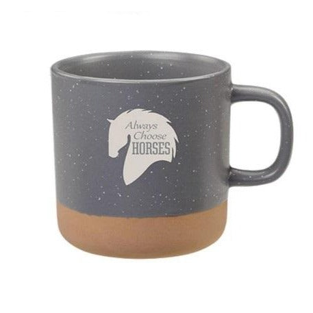 Always Choose Horses Mug, 13oz.