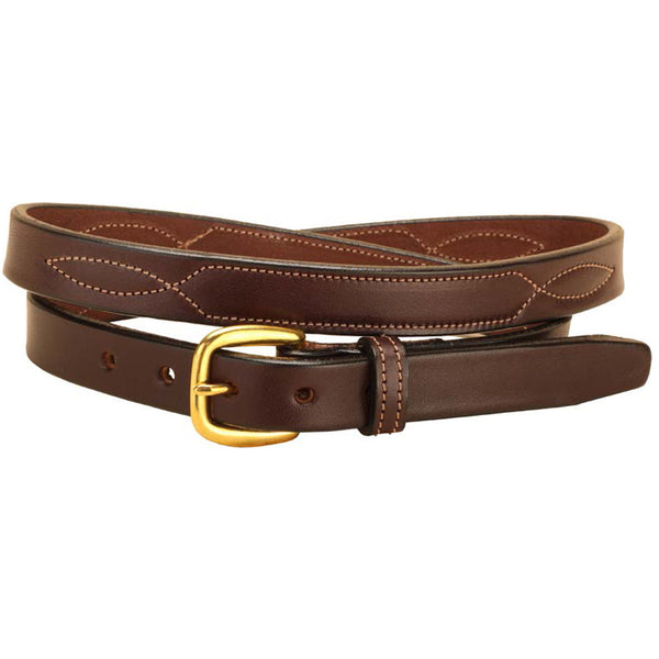 Tory Leather 3 4 Quot Nameplate Belt Wyldewood Tack Shop