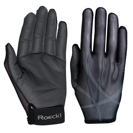 Roeckl Laila Summer Riding Gloves - Black