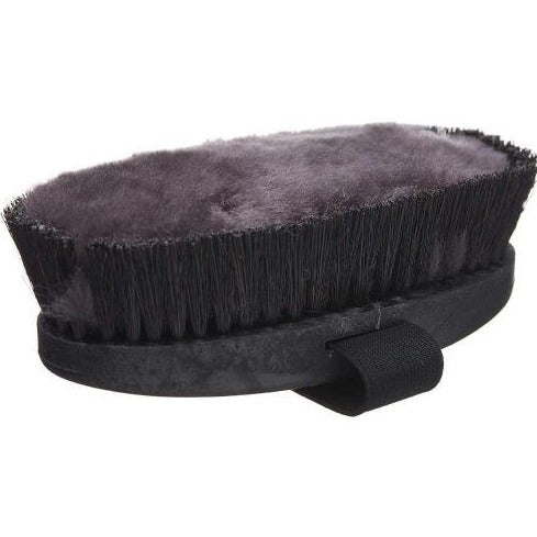 HAAS MUSTANG Grooming Brush deep cleaning for thick or shedding coats