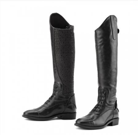 Ovation® Sofia Grip Black Field Boot- Child's