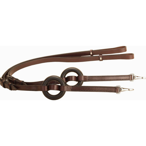 Tory Leather Donut Side Reins