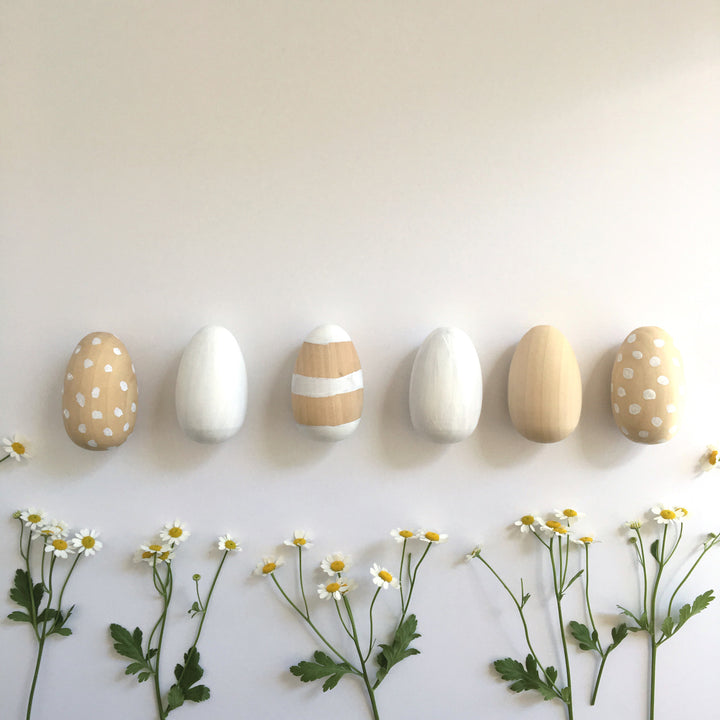 DIY: Wooden Easter Eggs