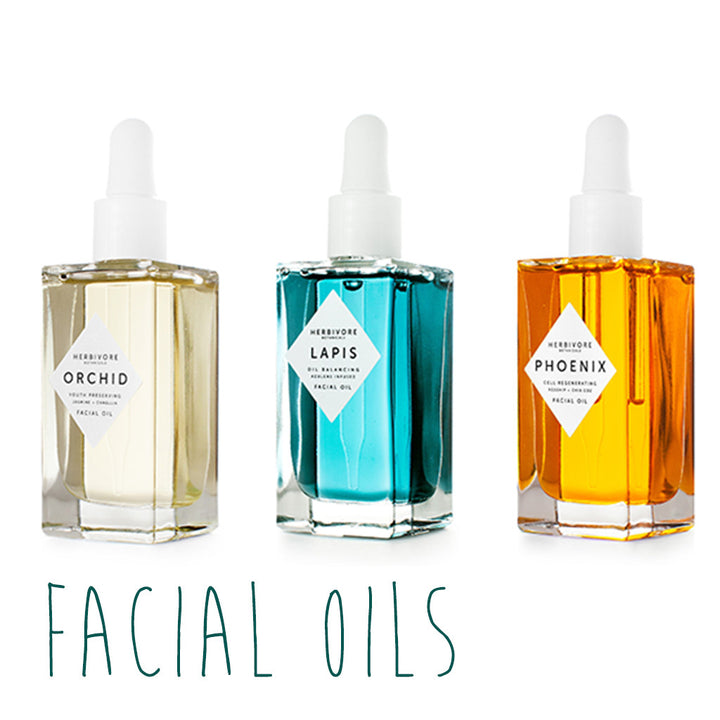 Healthy Living: Facial Oils