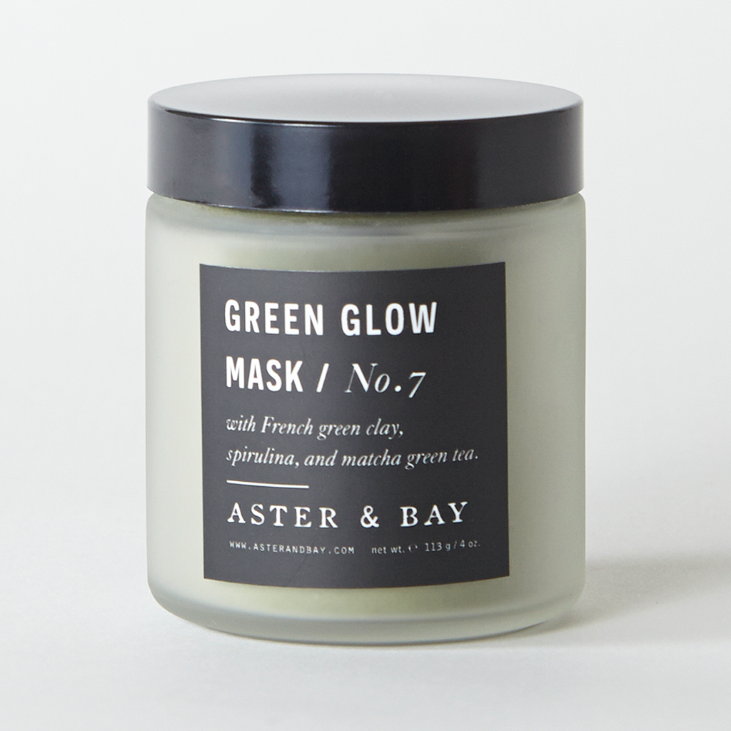 Handmade Green Glow Mask