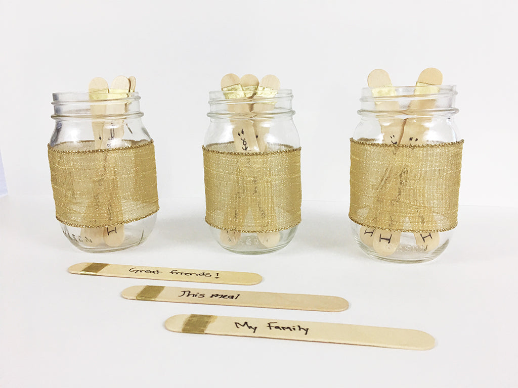 Thanksgiving DIY Thankful Jars