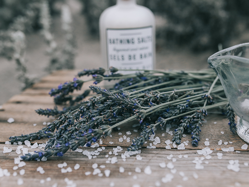 Lavender in Beauty Products