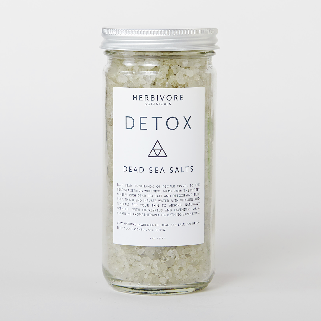 Detox Handmade Natural Bath Salts