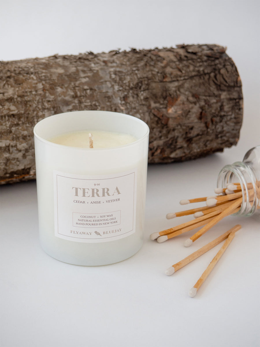 Terra Essential Oil Candle